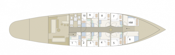 Floorplan of Florette
