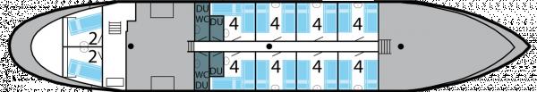Floorplan of Regina Maris