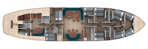 Floorplan of Sir Robert Baden Powell