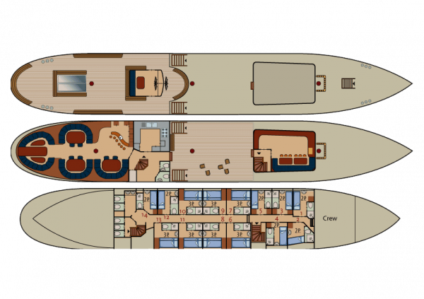 Floorplan of Artemis