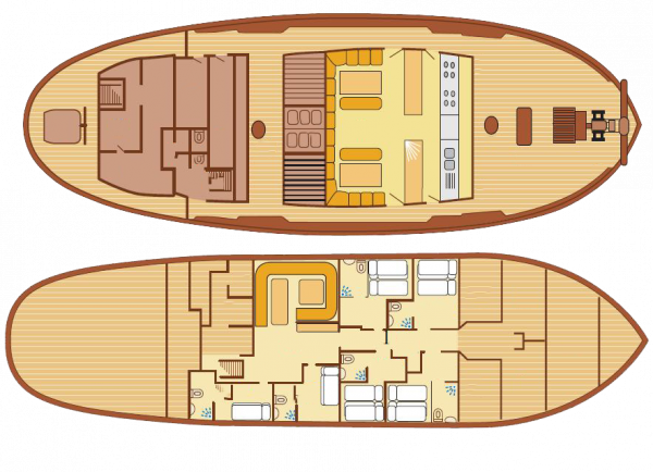 Floorplan of Eye of the Wind