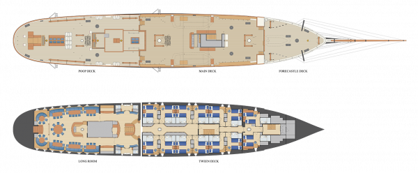 Floorplan of Stad Amsterdam